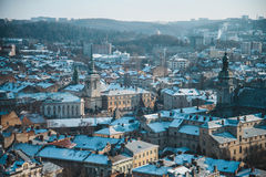 View on roofs of old city Royalty Free Stock Photo