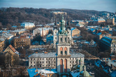View on roofs of old city Stock Photography