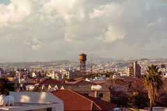 View of the roofs of the old city of Limassol. Cyprus Royalty Free Stock Image