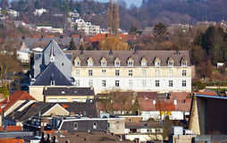 View on the roofs in the town Stock Photos