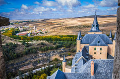 View from rooftop at Alcazar. Royalty Free Stock Image