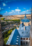 View from rooftop at Alcazar. Royalty Free Stock Photography