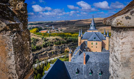 View from rooftop at Alcazar. Royalty Free Stock Images