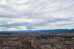 View from Rooftop. Of Duomo in Florence, Italy Royalty Free Stock Photos