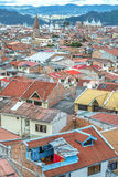 View of the rooftops and city of Cuenca, Ecuador Stock Images