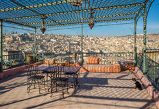 View of the rooftops of the Fez medina. Fez, Morocco. Royalty Free Stock Photos
