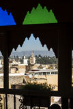 View of the rooftops of the Meknes medina. Fez, Morocco. Royalty Free Stock Image