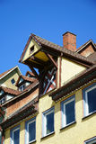 View on Rooftops of the old german town Rottweil Royalty Free Stock Photo