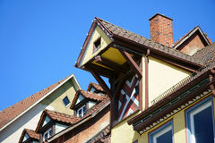 View on Rooftops of the old german town Rottweil Stock Photography
