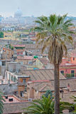 View on rooftops of Rome. Royalty Free Stock Images