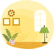 The view of room landscape Royalty Free Stock Image
