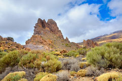 View of Roque Cinchado Royalty Free Stock Images