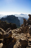 View from Roque Nublo Royalty Free Stock Photography