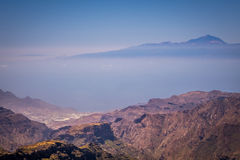 View from Roque Nublo Royalty Free Stock Photo