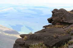 View from Roraima Royalty Free Stock Images