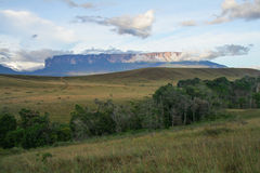 A view of the Roraima Mountain in Venezuela Royalty Free Stock Image