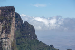 View from Roraima Tepui - Table Mountain - Triple border, Venezu Royalty Free Stock Photography