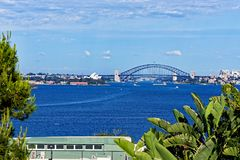 Sydney Opera House and Harbour Brige Stock Image