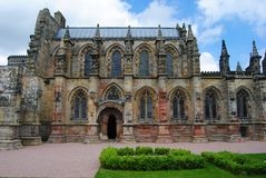 View of Rosslyn Chapel. Stock Photos