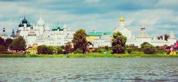 View on rostov kremlin from lake Stock Photos