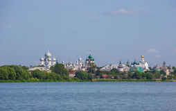 View of Rostov Kremlin, Russia Royalty Free Stock Photography