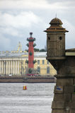 View of the Rostral column. Royalty Free Stock Photography
