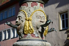 View in Rothenburg, Germany Stock Photos