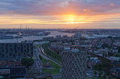 View of Rotterdam Royalty Free Stock Photography