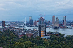 View of Rotterdam Royalty Free Stock Images