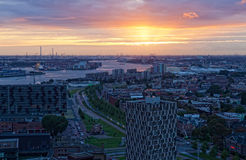 View of Rotterdam Stock Image