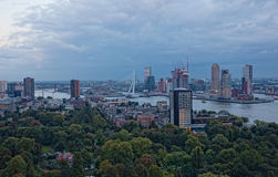 View of Rotterdam Stock Photography
