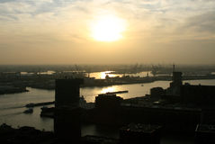 View on Rotterdam in the Netherlands Stock Photos
