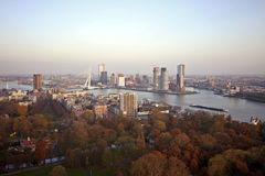 View on Rotterdam in the Netherlands Royalty Free Stock Photo