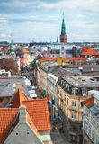 The view from the Round Tower in Copenhagen. Stock Images