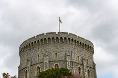 View of the Round Tower, Windsor Castle Royalty Free Stock Photography