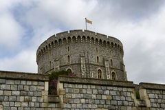 View of the Round Tower, Windsor Castle Stock Photo