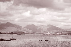 View from Roundstone of Connemara National Park; County Galway; Stock Images