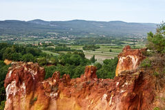 The View from Roussillon Royalty Free Stock Images