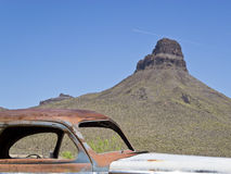 View from Route 66 in Arizona Royalty Free Stock Photo