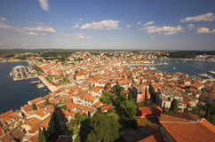 A view of Rovinj stock photography