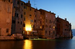 A view of Rovinj, Croatia, Istria Stock Photography
