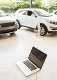 View of row new car Stock Photography