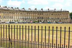 Royal Crescent Bath England Royalty Free Stock Photo