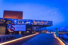 View of Royal Danish Playhouse, Copenhagen, Denmark royalty free stock images