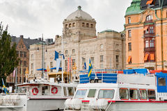 View on Royal Dramatic Theater, Stockholm Royalty Free Stock Photos