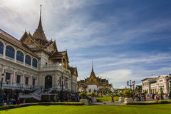 View of the Royal Grand Palace in Bangkok Stock Photo