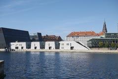 View of the Royal Library. Copenhagen, Denmark - October 10, 2018 : View of the Royal Library in Copenhagen royalty free stock photo