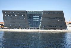 View of the Royal Library. Copenhagen, Denmark - October 10, 2018 : View of the Royal Library in Copenhagen royalty free stock image