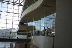 View of the Royal Library. Copenhagen, Denmark - October 10, 2018 : View of the Royal Library interior royalty free stock photos