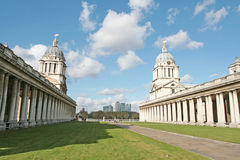 View through Royal naval college Stock Images